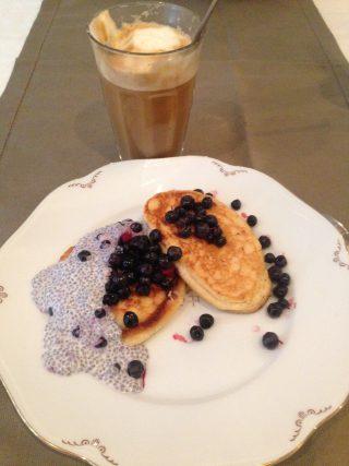 Söndagsfrukost med pannkakor